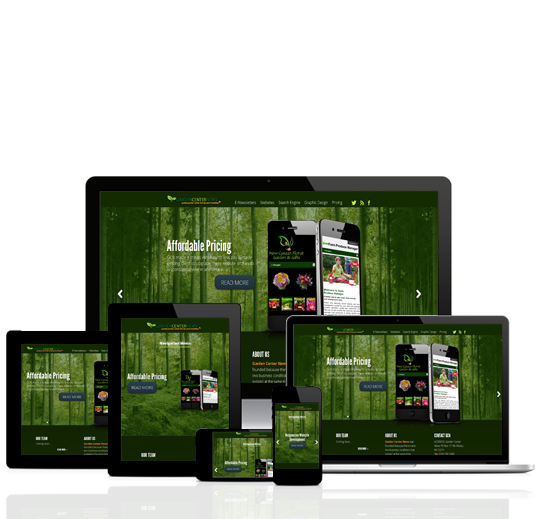 Responsive Web Design – Garden Center Responsive Web Design