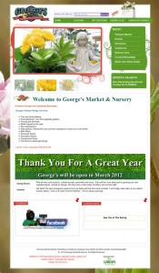 George's Market and Nursery - Garden Center Websites